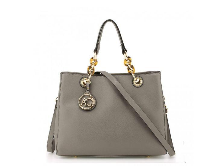 Sivá kabelka do ruky Zoe AG00536A