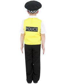 Polis Maskeraddräkt Barn