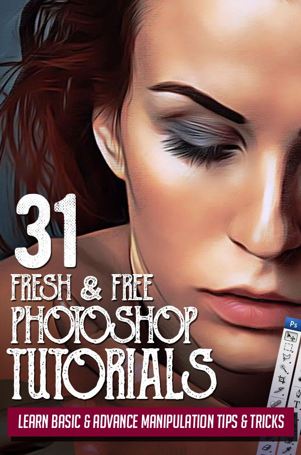 31 Fresh New Photoshop Tutorials – Learn Basic & Advance
