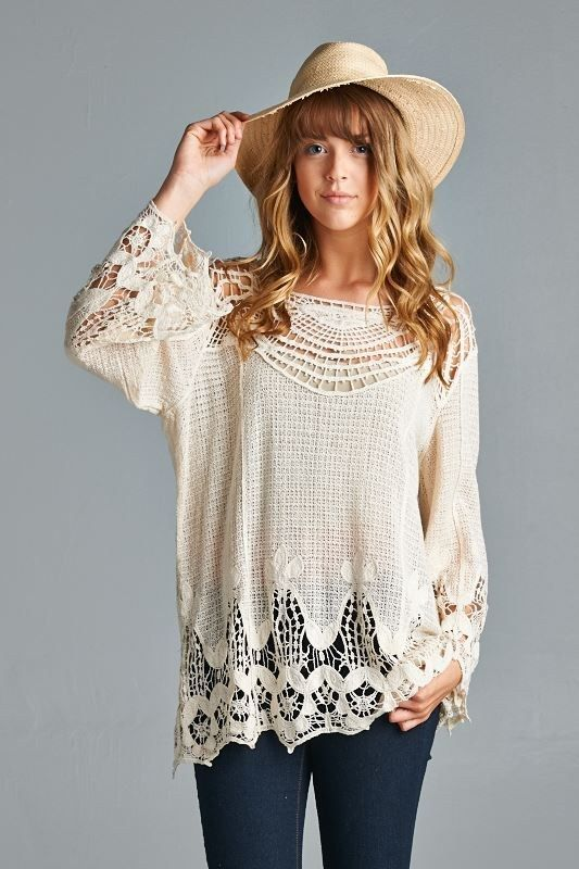 Crochet Ladika Tunic