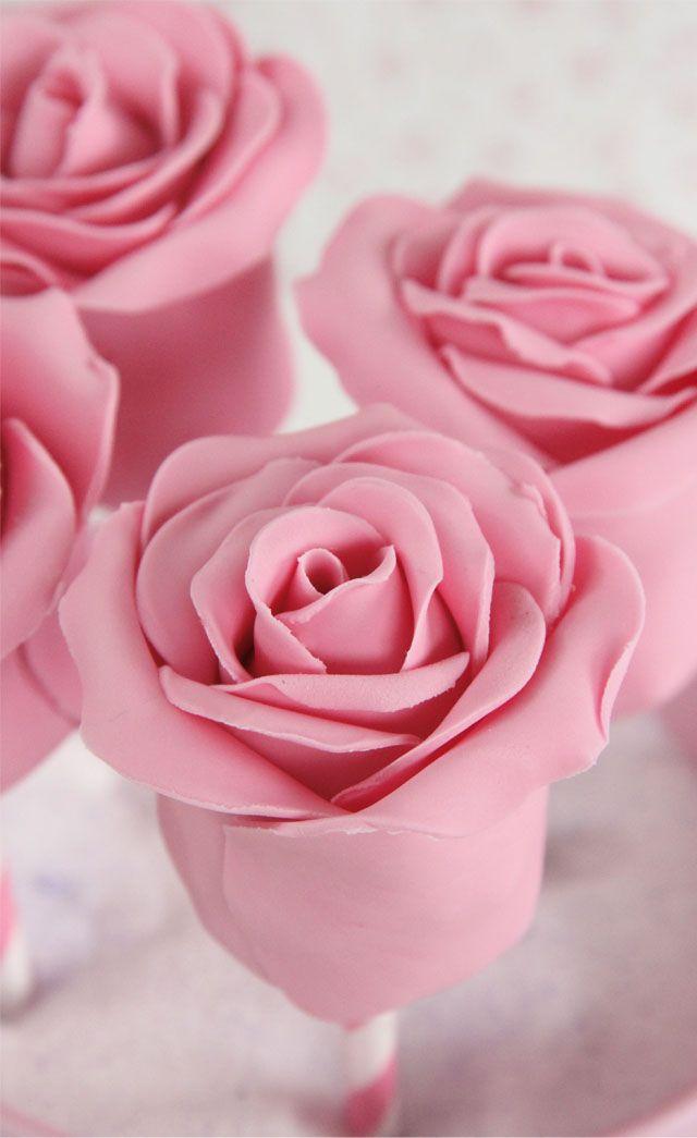 Cake Pops de rosas (y mi primer videotutorial)