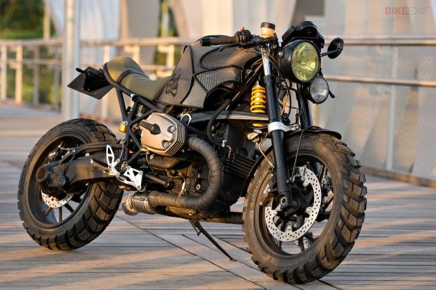 The R1200S saw the debut of BMW's most powerful-ever boxer motor, with over 120 horsepower going to the back wheel. A custom build by Cafe Racer Dreams - Pedro García and Efraon Triana.