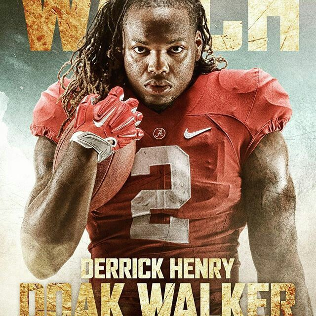 Derrick Henry - By @alabamafbl Derrick Henry earns his 2nd nomination to a preseason watch list! Henry was named this morning to the Doak Walker Award Watch List, an award that recognizes college football's top running back! #Alabama #RollTide #BuiltByBama #Bama #BamaNation #CrimsonTide #RTR #Tide #RammerJammer
