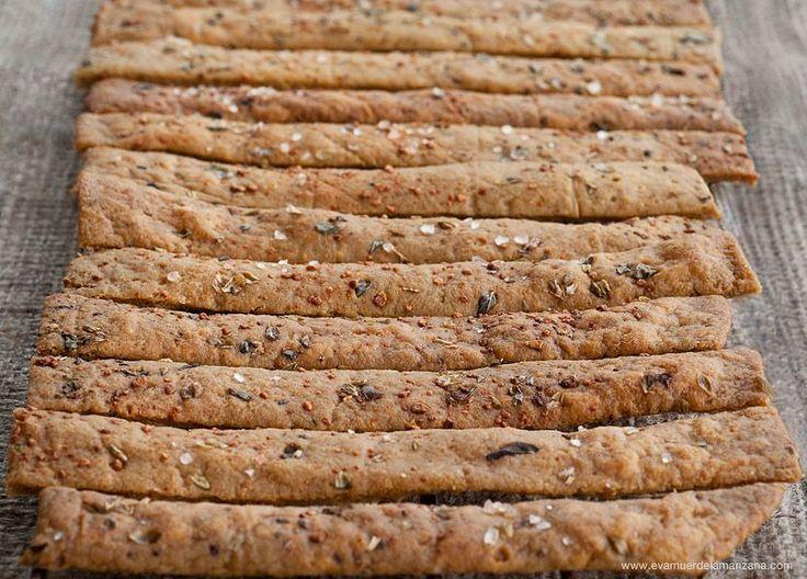 Receta: Paleo Crackers Crujientes (sin gluten, sin frutos secos)