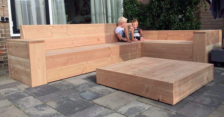 Garden Bench - douglas Tuinbank - douglas