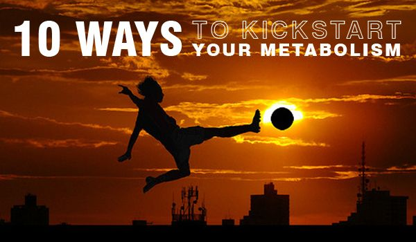 10 Ways Kick-start Your Metabolism   Whether you're blessed with a fast metabolism or not, these ten tips will help you rev up your metabolism all day long  #weightloss #fitness #nutreats