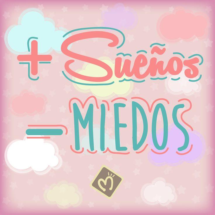 Tarea de la semana: más sueños, menos miedos… #Sueños #Smile #Día #Migas visita nuestro sitio web www.migastienda.co