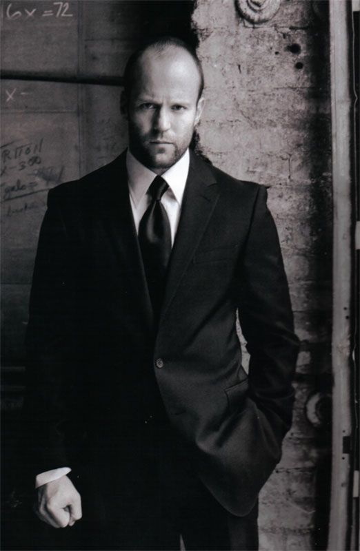 It's gotta be the smoldering eyes....and I like a rugged guy...