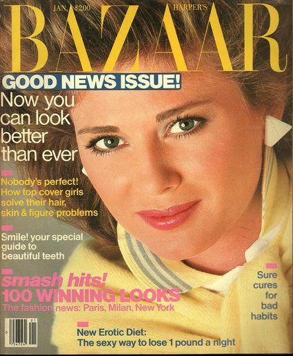 Harper's Bazaar January 1983