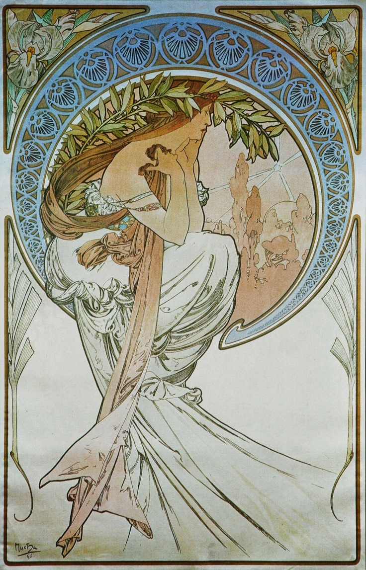 a biography of alphonse mucha a czech painter Find out information about alphonse mucha 1860–1939, czech  explanation of alphonse mucha  an intricate work by alphonse mucha, the famed painter and.