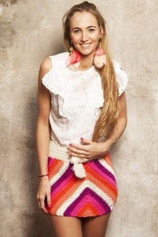 Spring/Summer crochet skirt. I'm in love!