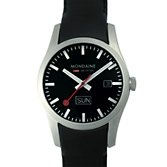 I love these watches, based on the Swiss railway clock, just bought one for a birthday present!