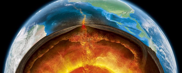 Are there 'oceans' hiding inside the Earth?  The chance discovery of a mystery rock wrapped inside a diamond has made scientists question how our oceans formed – and what might be lurking beneath our feet…