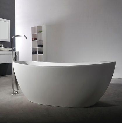 Viena frittstående badekar fra Interform. Minimalistisk badekar
