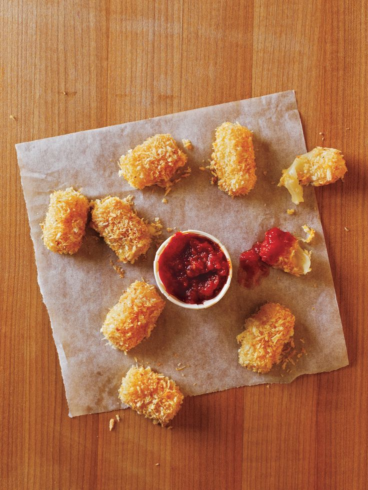 Serve this quick after-school snack, courtesy of Cooking Light, to your kids as an alternative to traditional fried cheese sticks. Each serving of 3 mozzarella bites packs 7 grams of protein and is less than 100 calories. This recipe is part of our 30 Healthy Log It Now Recipes e-cookbook!Download your free copy here. Find more low-calorie dinner …