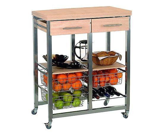 Oltre 25 fantastiche idee su carrello da cucina con - Carrello portavivande design ...