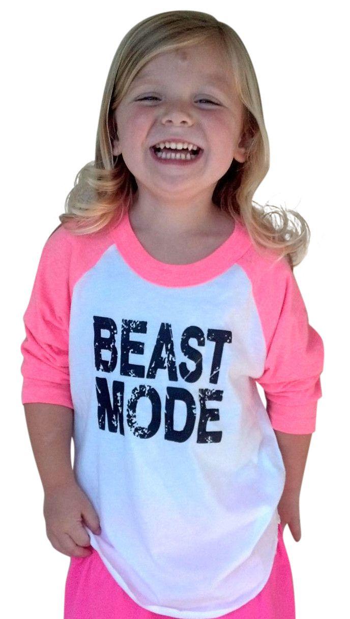 Beast Mode Long Sleeve Henley Pink