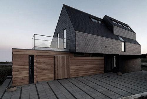 VKR Holding's net zero-energy home