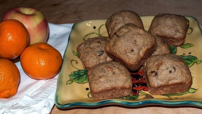 Recipe: Fruity Muffins with Apricots and Raisins - Mother Rimmy's Cooking Light Done Right
