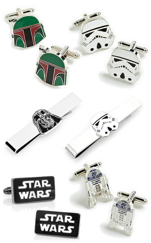 Star Wars Cuff Links I need to find these for my husband!