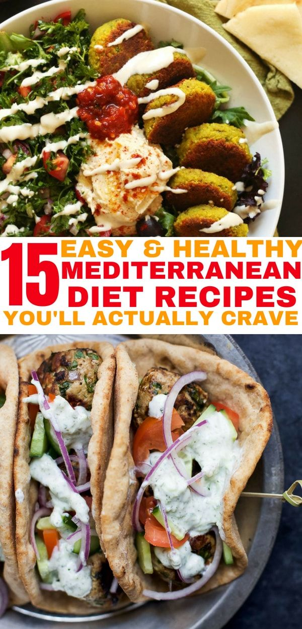 Mediterranean diet recipes that you will actually crave. I'm so excited that…