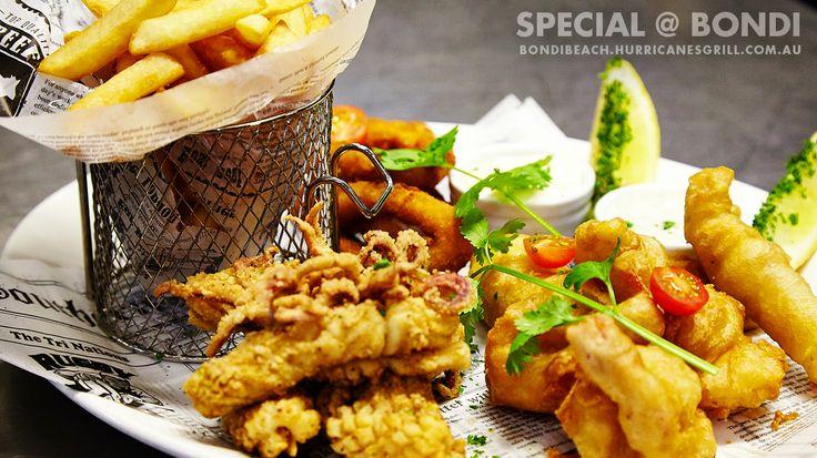 Special Seafood Platter | Exclusive to Hurricane's Grill Bondi Beach Steakhouse | Sydney Australia