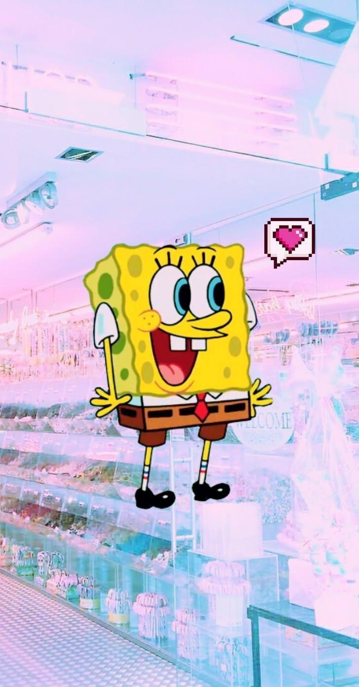 Spongebob Aesthetic Tumblr Cartoon Wallpaper Iphone Spongebob Wallpaper Iphone Cartoon