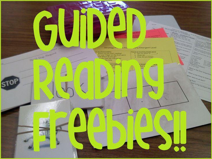 Little Minds at Work: Guided Reading Time & Freebies!!