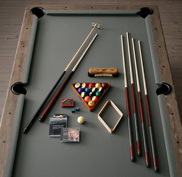 Brunswick Tournament Billiards Table | Restoration Hardware