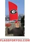 "Georgia Bulldogs Tailgate Flag 42"" x 20"""