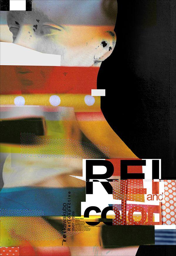 Anna Guseva    Retrospectiva soporte gráfico  iconos del diseño de vanguardia Rei Kawakubo