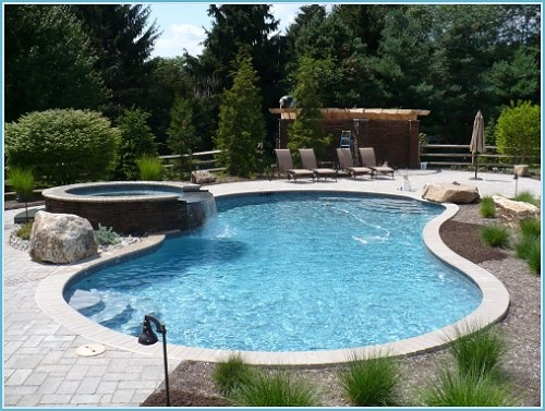 17 best images about backyards on pinterest fire pits - Cedar beach swimming pool allentown pa ...