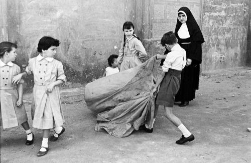 Bullfighting of Living, 1958 by Oriol Maspons