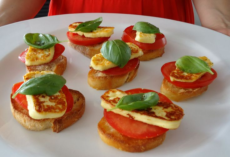 how to cook basil haloumi