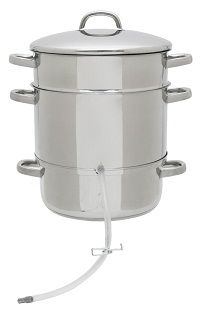 Steam Juicers - Safe, Reliable, Natural Way To make Homemade Juice from Berries and Other Fruit!