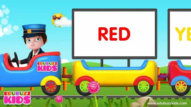 Colors Train - Learning Colors Nursery Rhymes for children