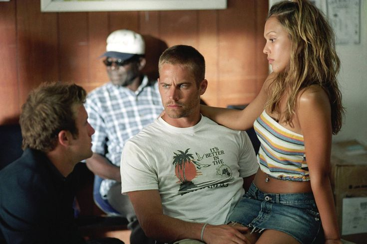 With Jessica Alba in 'Into The Blue', 2005.