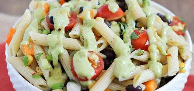Southwestern Pasta Salad | Sides and salads | Pinterest
