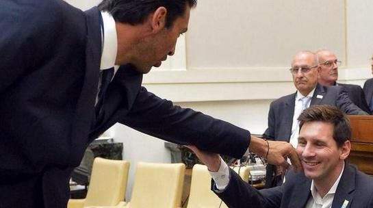 "QUOTE: Gianluigi Buffon on meeting Lionel Messi: ""I just wanted to make sure Messi is human like us."""