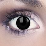 Funky Eyes Black Contact Lenses