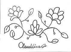 Resultado de imagen para moldes de bordados de flores mexicanos