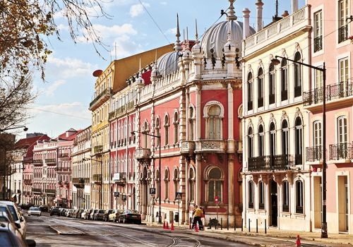 Moorish Architecture of the XIXth - Principe Real Square, Lisbon Portugal Enjoy Portugal Holidays www.enjoyportugal.eu