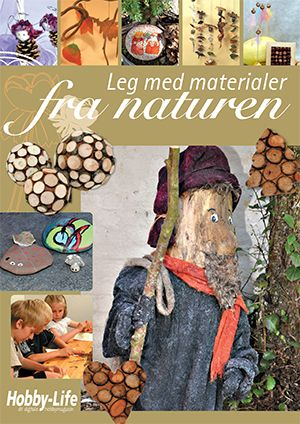 Gratis tema magasiner Fun with materials from the nature