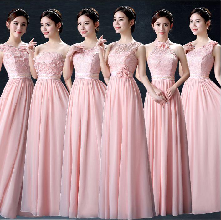 1432 best vestidos de dama cortos y largos images on Pinterest ...