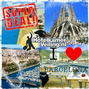 Onze Barcelona deal, voordelig naar deze prachtige stad. https://www.hotelkamerveiling.nl/hotels/spanje/hotel-barcelona.html