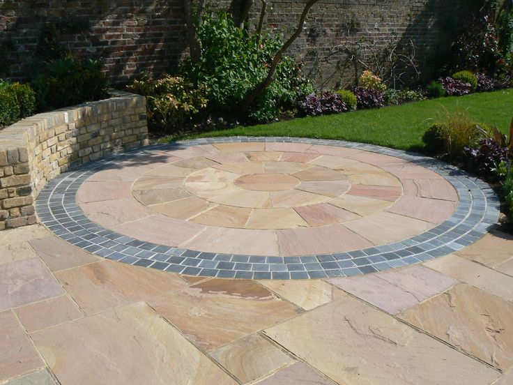 Garden Stone Circles 11 best natural stone circles images on pinterest cobblestone stone circles from ced natural stone including yellow granitepink sandstone beige sandstone green sandstone and black limestone workwithnaturefo