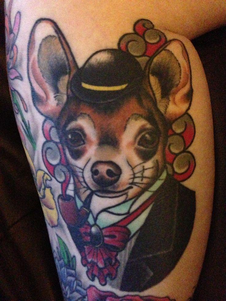 Chihuahua Tattoo  Animal Tattoos Pinterest Chihuahuas