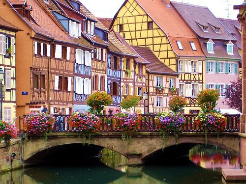 Colmar, France: Stones Bridges, Buckets Lists, Favorite Places, Colmar Alsac, Beautiful Places, Colmar France, Amazing Places, La France, French Style