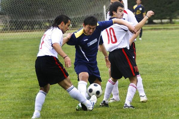 Fútbol en la UCM.