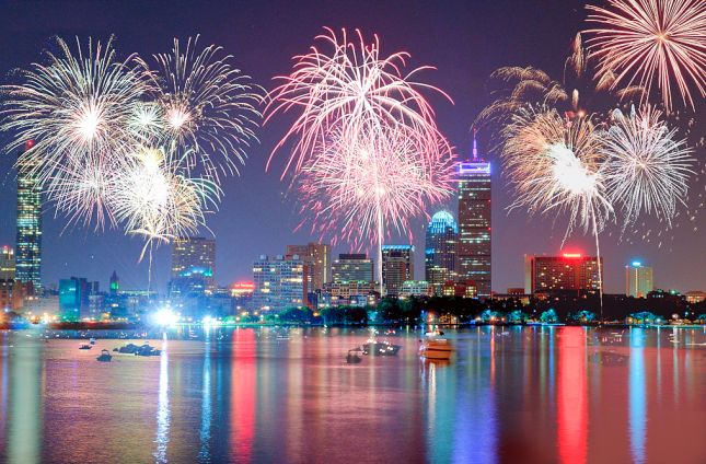 Head to Boston to see this *amazing* fireworks show.